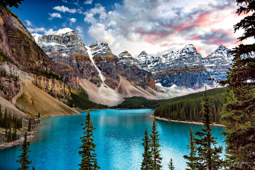 Moraine Lake Photography Art | Gary Johnson Photography