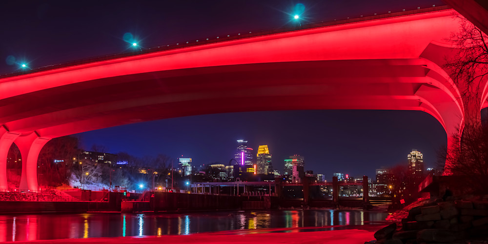 Minneapolis Red 2 - City Art | William Drew Photography
