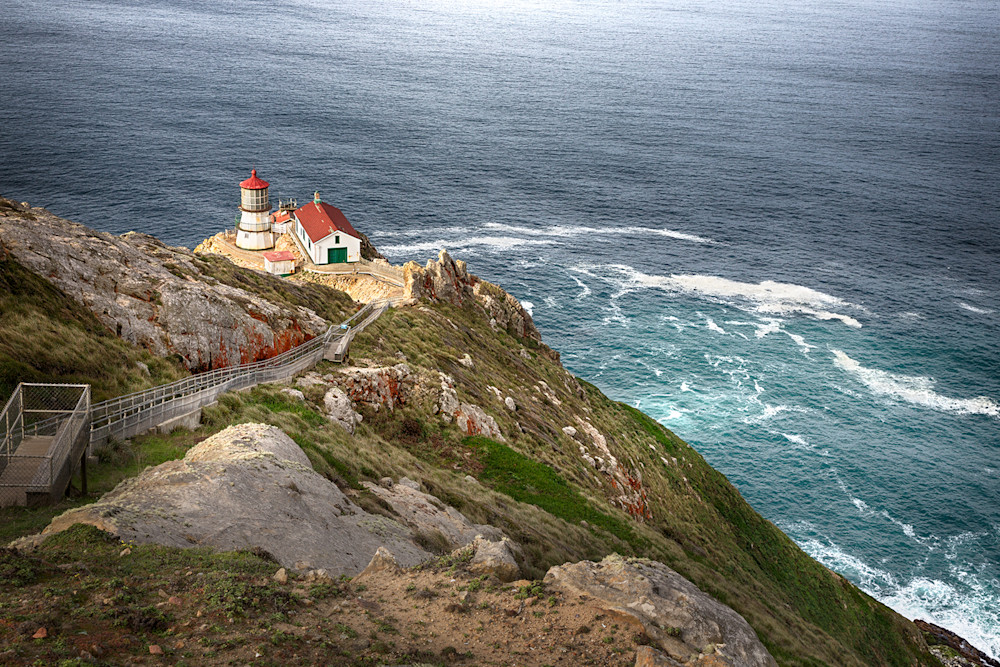 Daybreak, Point Reyes Lighthouse Art | The Carmel Gallery