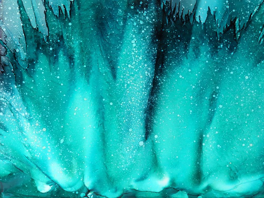 Crystal Departure  Print Art | Minisa Pyrography