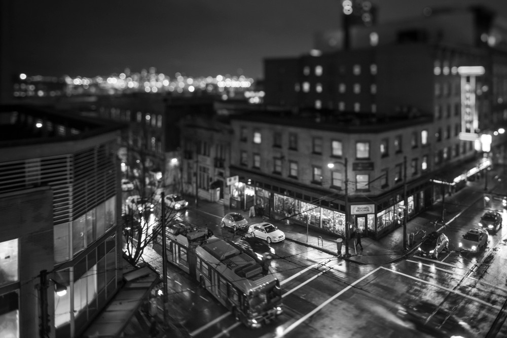 Gastown #2 B&W Art | James Alfred Friesen