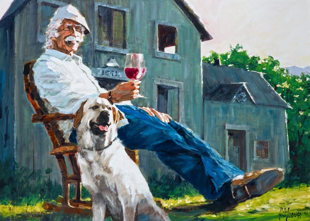 Country Friends, fine art print, Aldo Luongo