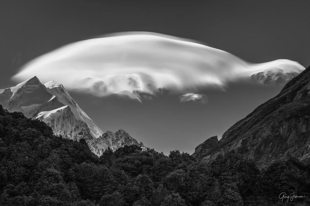 Mt. Cook Lenticular Cloud
