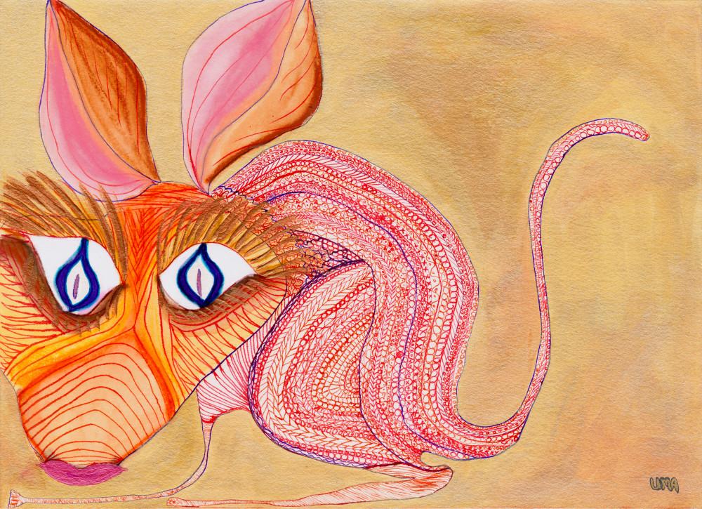 Henna Mouse Art | Pam White Art