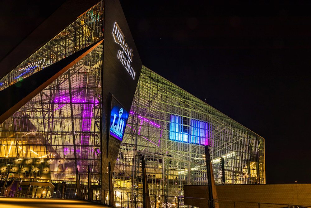 US Bank Stadium 1 - Minneapolis Art | William Drew