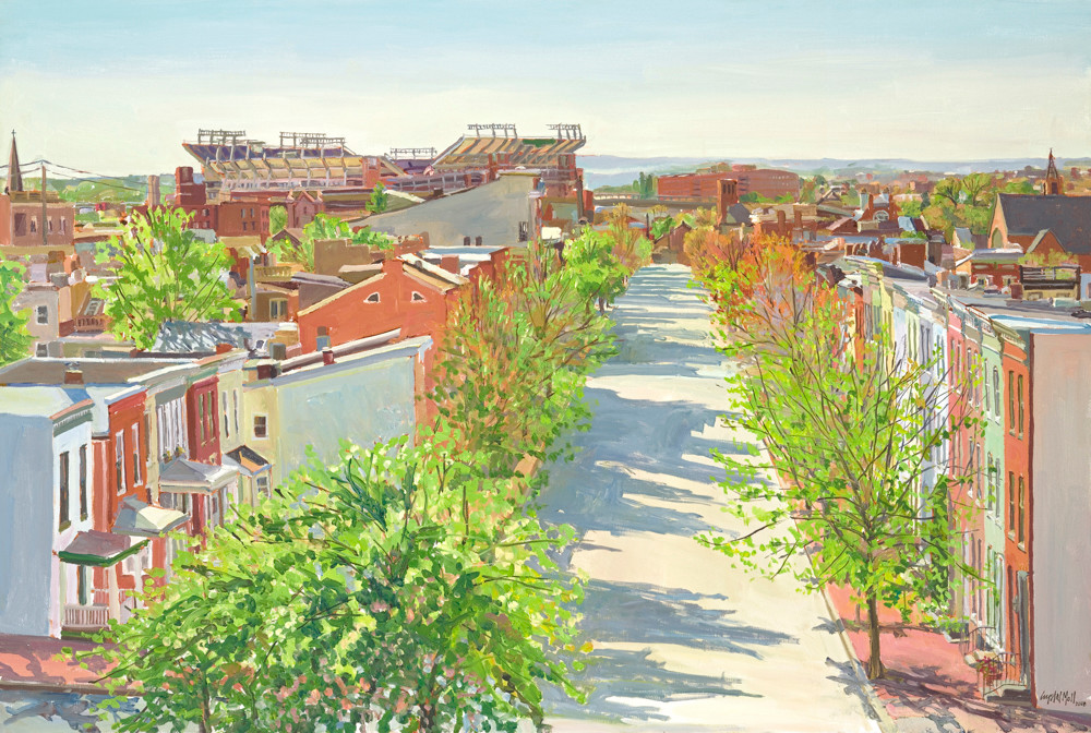 Federal Hill's Spring / Print