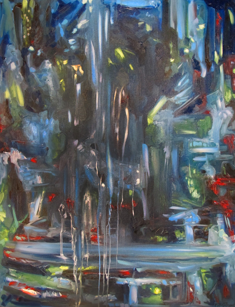 """Caverns"" Abstract Art for Sale"