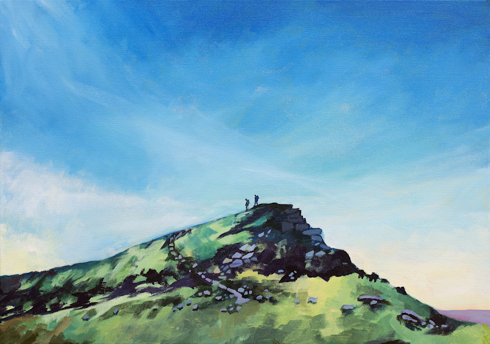 Crickhowell Table Mountain Art prtint
