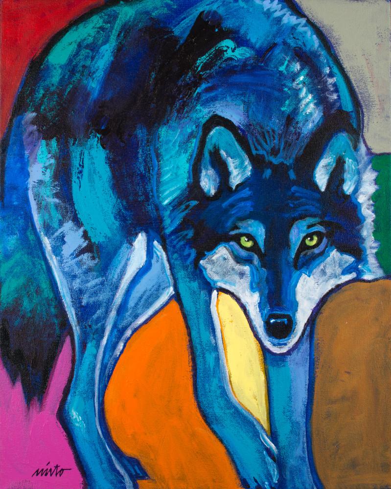 Blue Wolf | John Nieto