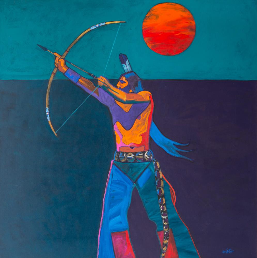 Nocturnal Archer | John Nieto Art Open Edition Giclee