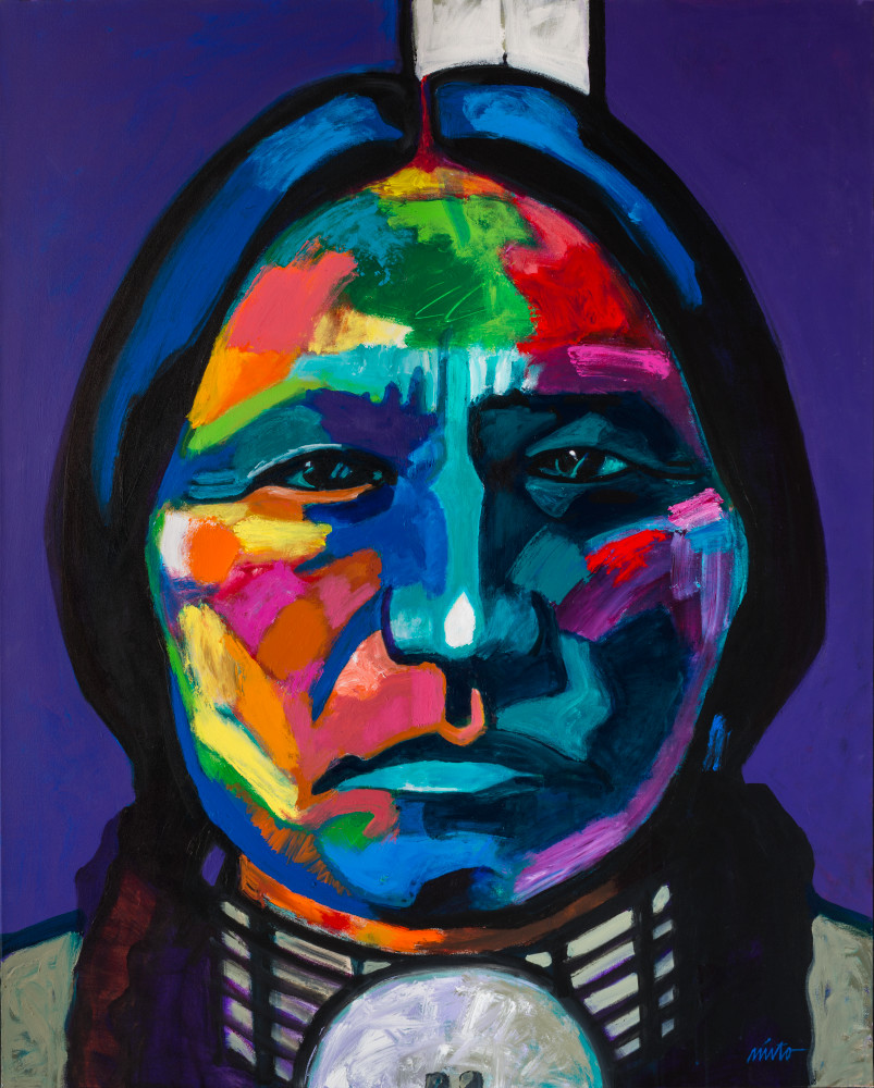 Chief Sitting Bull | John Nieto Art Open Edition Giclee
