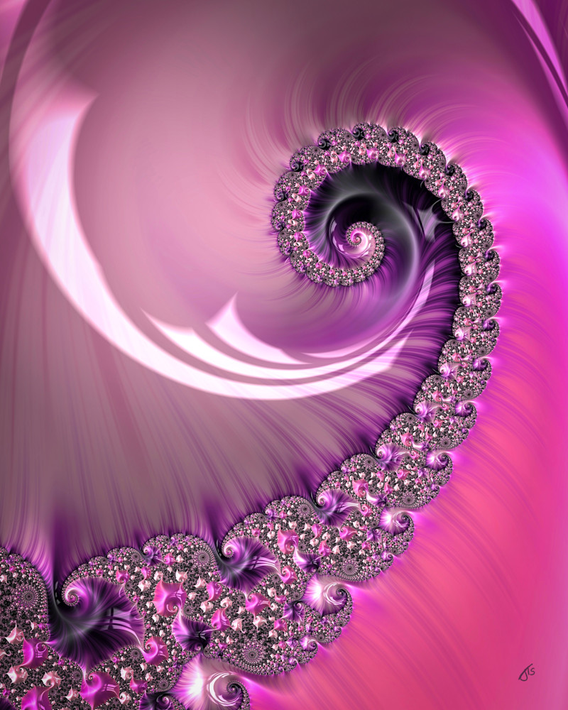 Fractal Two Pink