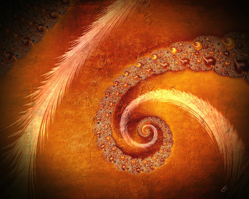 Fractal Three Stony Spiral