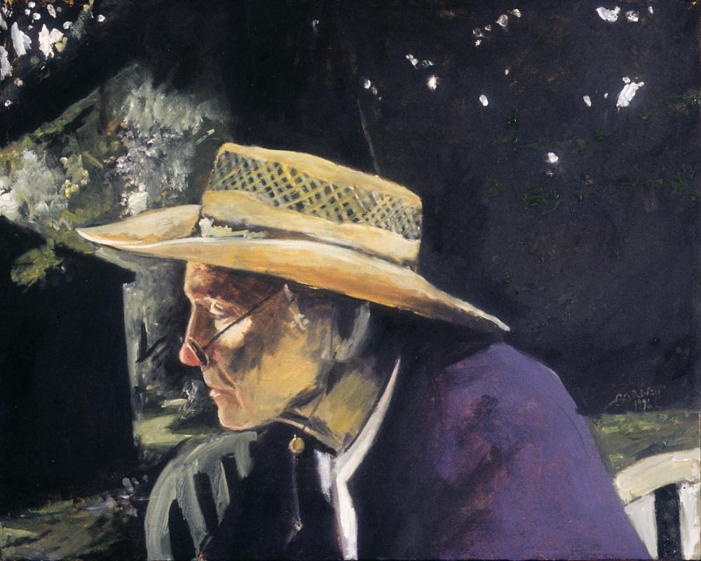 The Artist's Grandfather Art   Sandy Garnett Studio