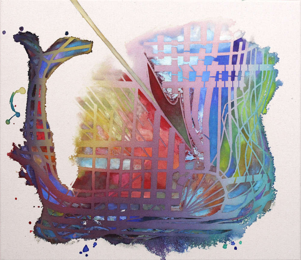 Whale Hunt Art Print  -  Sale - Wet Paint NYC