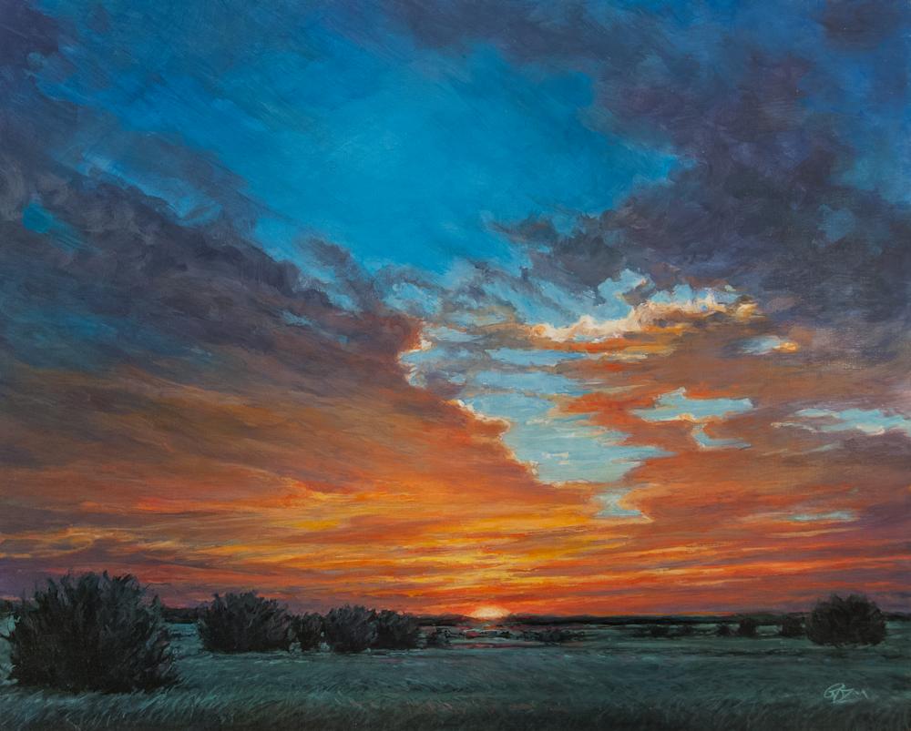 Prairie Sky Fire Print