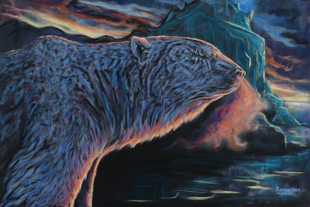 Fire And Ice Art | Amy Keller Rempp Art