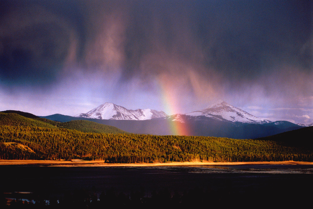 SUM-3816 • Rainbow over Lake Dillon