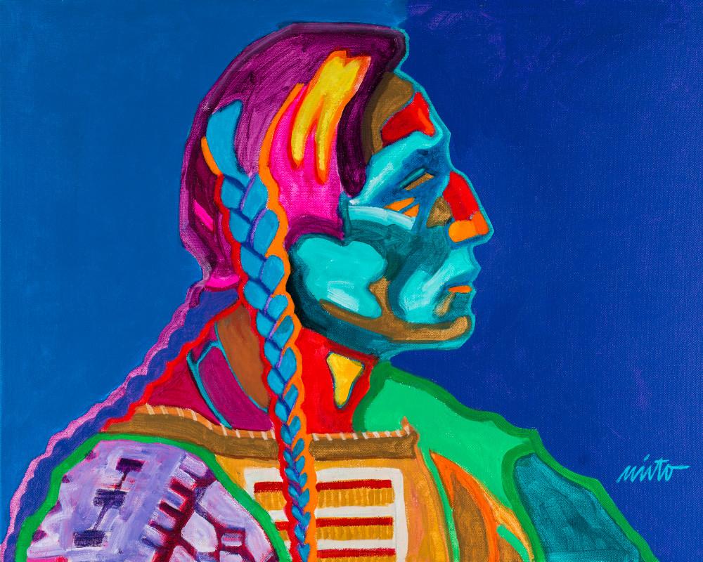 Spotted Bull   John Nieto Art Open Edition Giclee