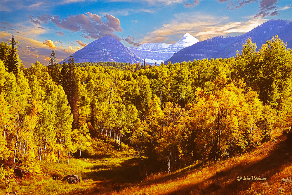 Provo Peak In Autumn Photography Art | Art in Nature