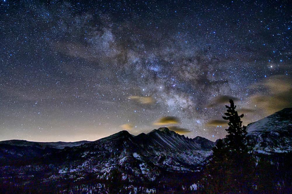 Night Sky over Rocky Mountain National Park