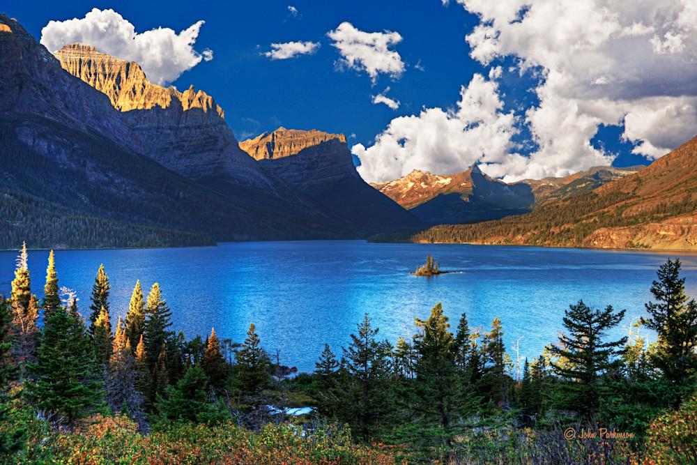 Saint Mary Lake in Glacier National Park, Montana