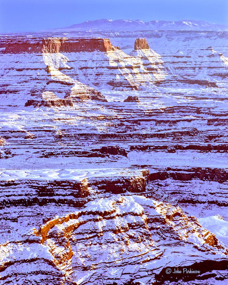 Winter Dusk in Canyonlands National Park, Utah