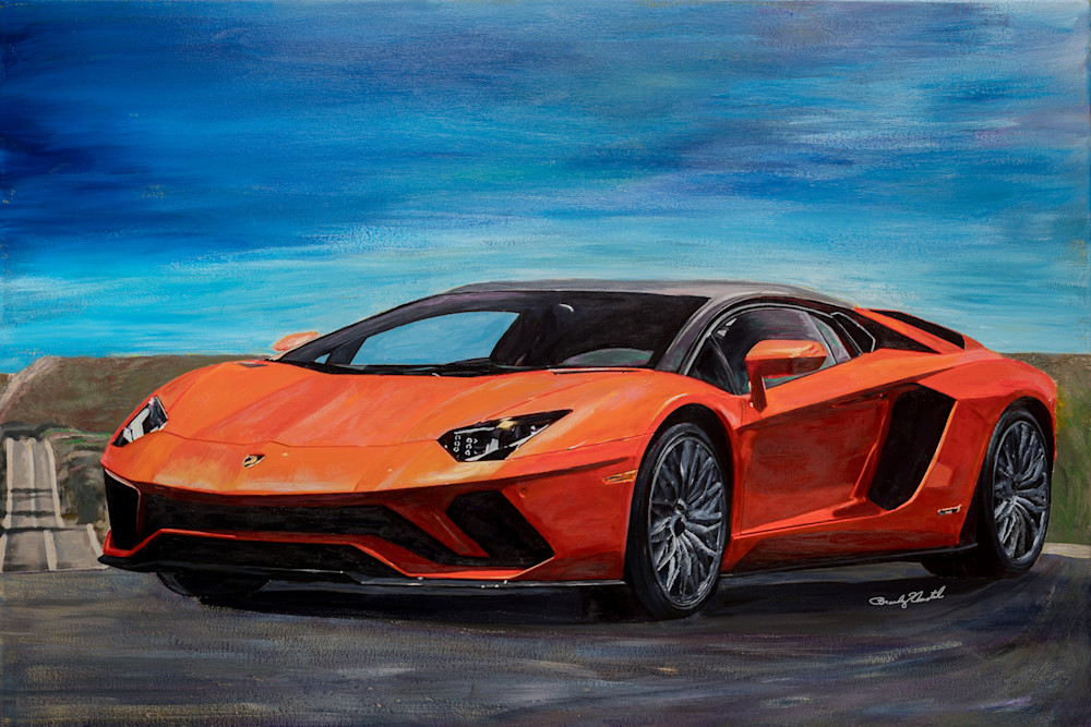 Lamborghini Aventador S Coupe Art | Media, Merchandise & Entertainment, LLC.