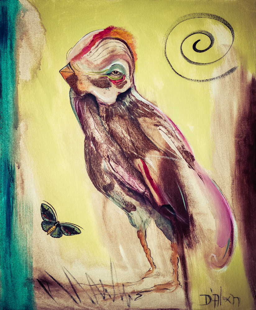 """""""The Moth Leads The Sparrow To Supper"""""""