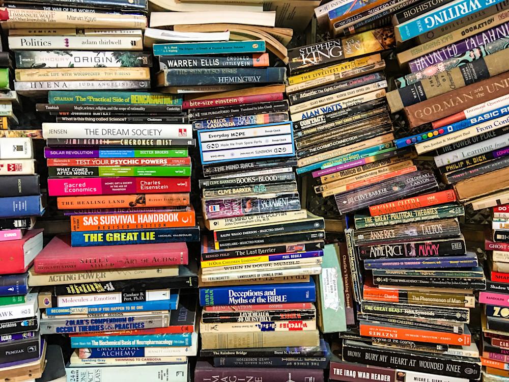 Stacks of Books - 8871