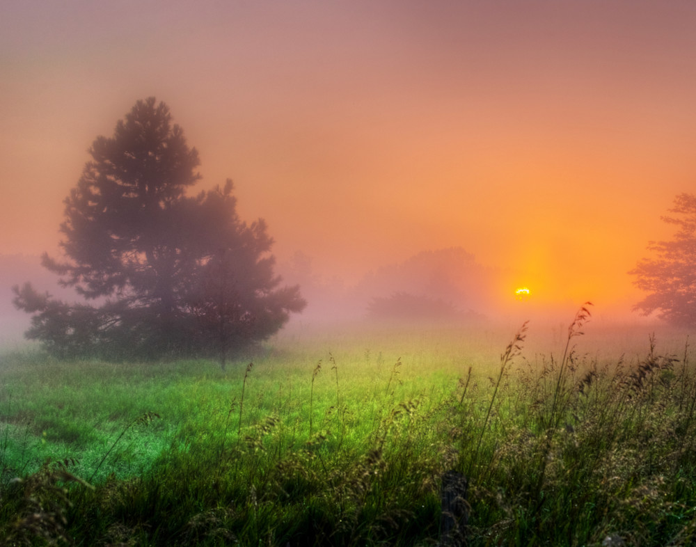 Nebraska Sunrise Fine Art Photography