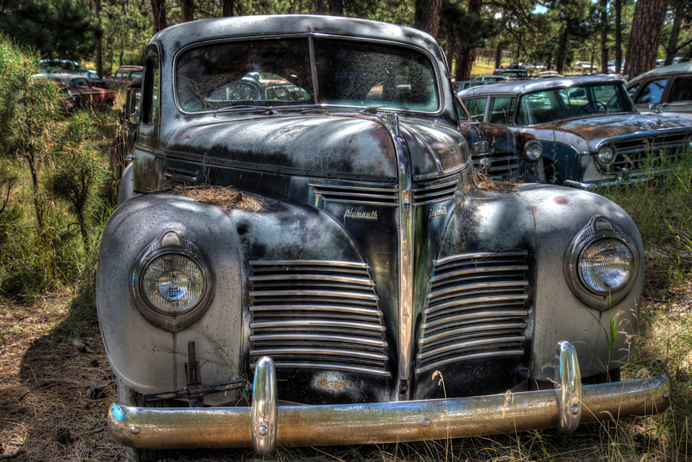 Classic 1940 Plymouth Photography