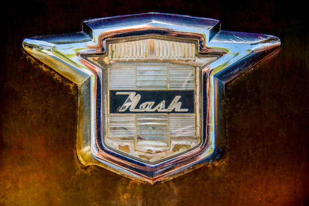 Classic Nash Badge Photography