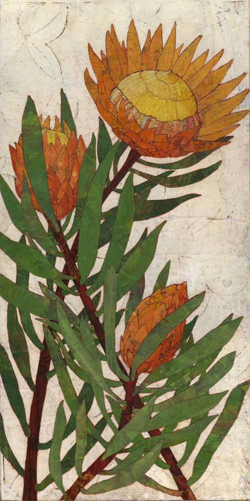 Protea Art | Karen Sikie Paper Mosaic Studio