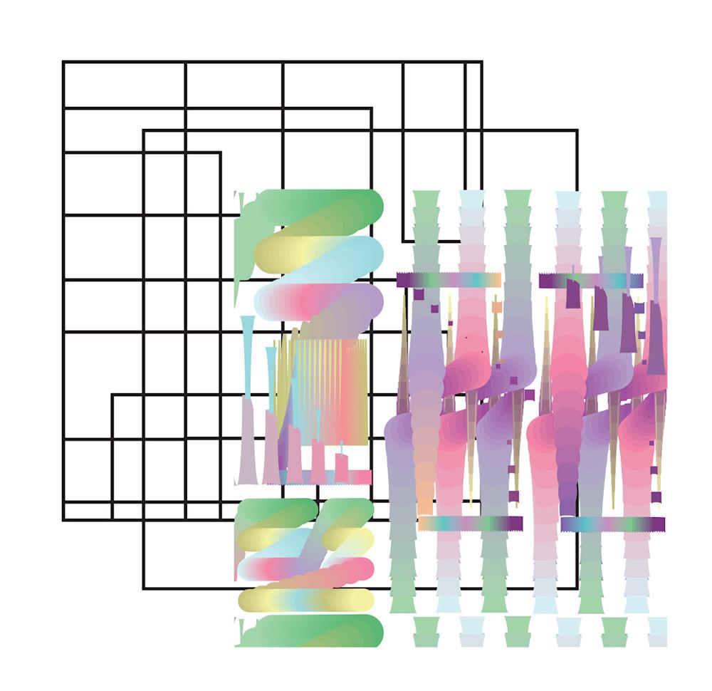 industrial, gradient, patterns, art, wall art
