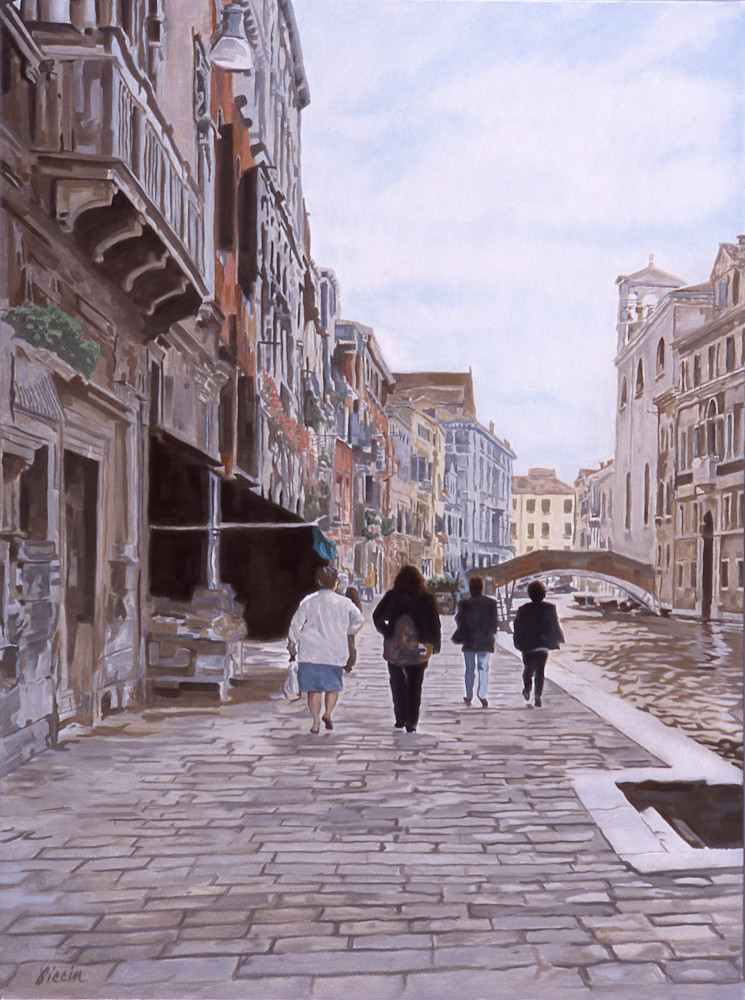 Una Passegiata, Venice, Italy