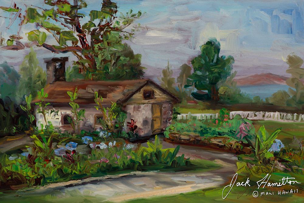 "#1402 ""OLD TASTING ROOM"" J. HAMILTON © 6-29-2008 8X12 OIL ON BOARD.NEF"