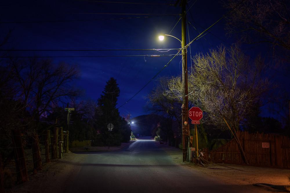 photography, new mexico, santa fe, nocturne, nightscape, landscape