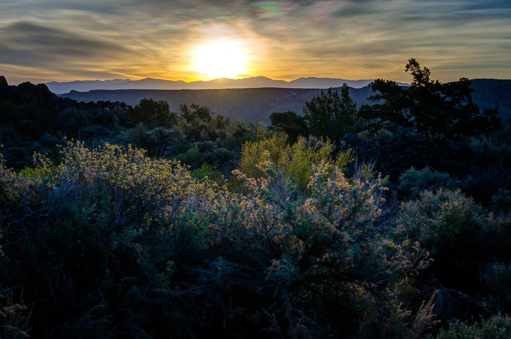 Sunrise White Rock Canyon Art   jonathankeeton