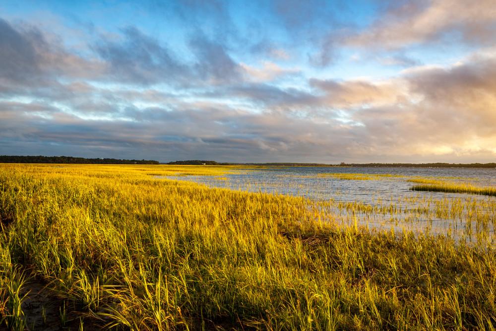 Marsh Glow Sunrise