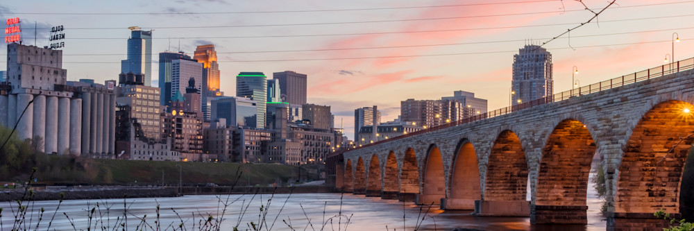 Cotton Candy City - Minneapolis Photographs | William Drew