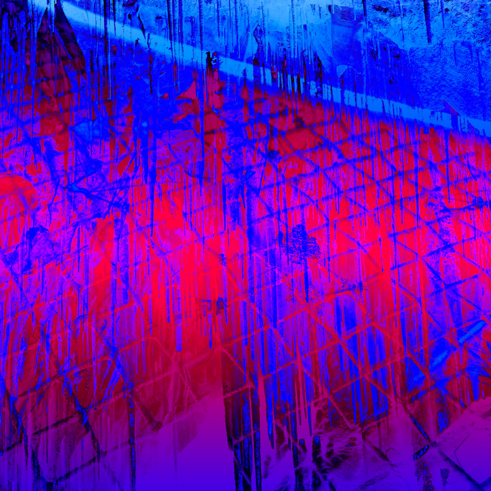 Manifestation Of Color, red art, Purple art, abstract art
