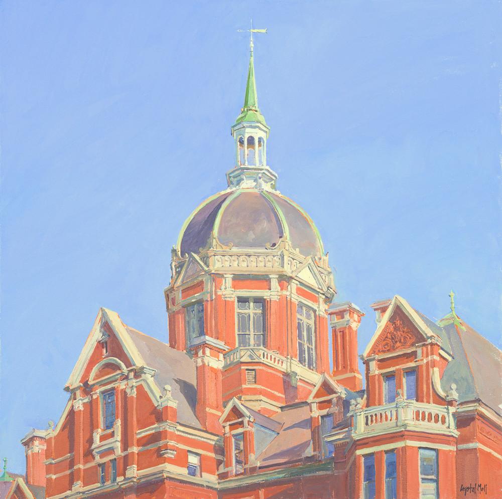 Johns Hopkins Dome / Print Art | Crystal Moll Gallery