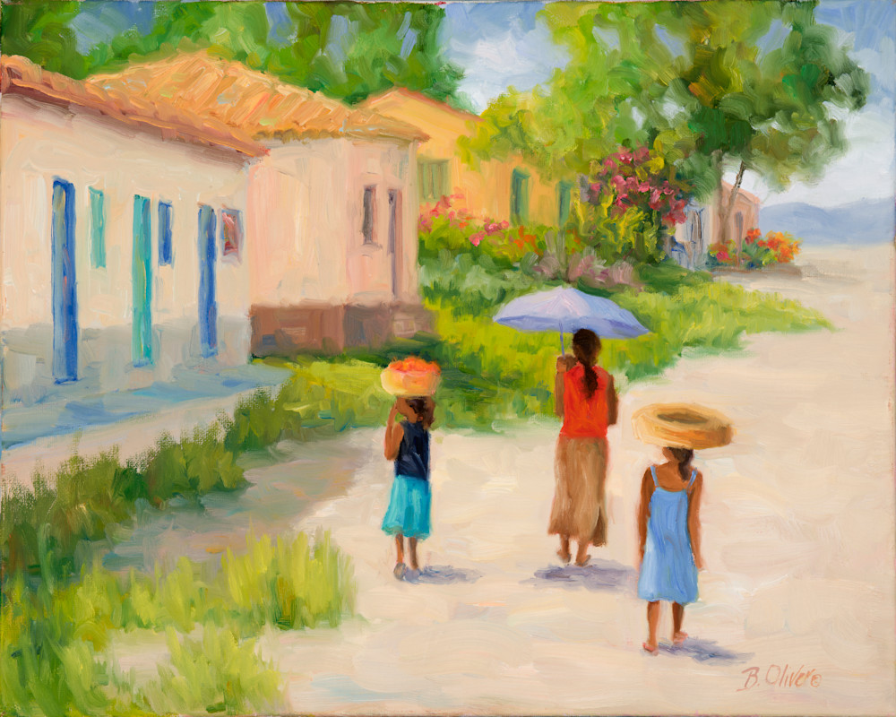 Afternoon Stroll Art | B. Oliver, Art
