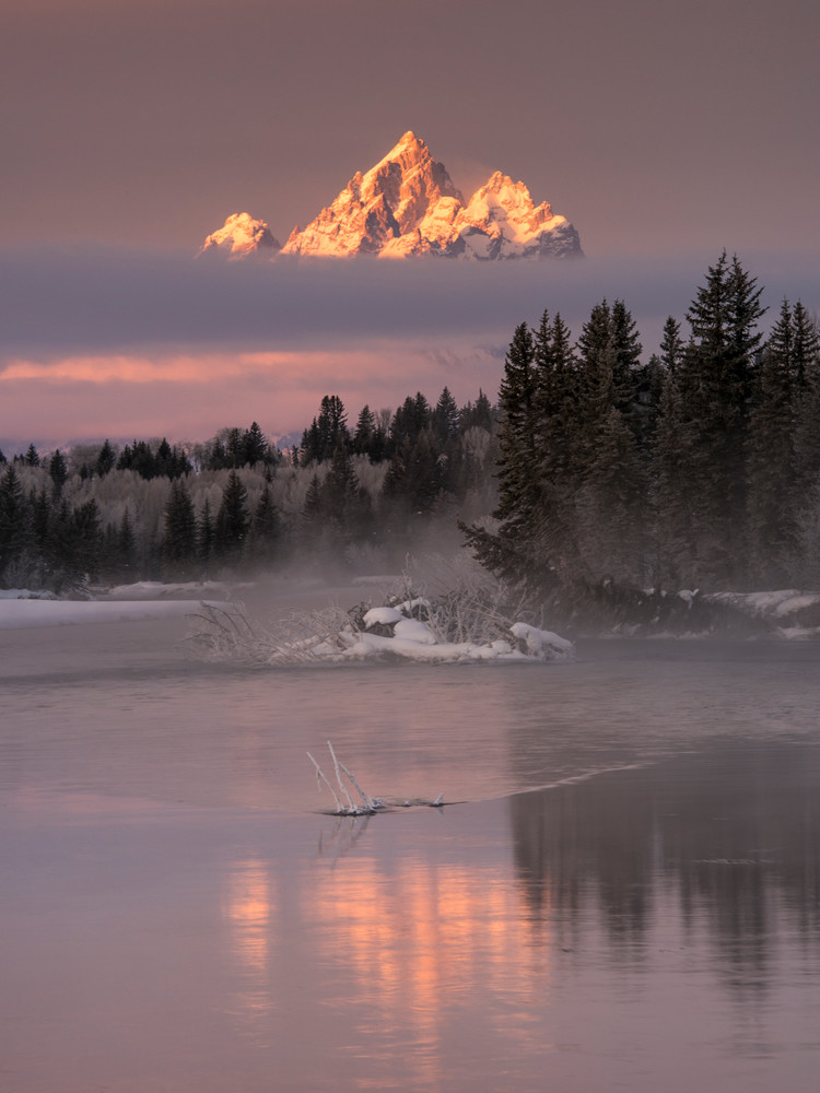 1659 Rising Above The Mist - Vertical