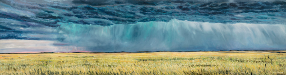 Ocean Over Kansas | Lawrence Beer Company Painting