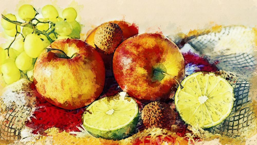 Fruits, Kitchen Art, Canvas Prints