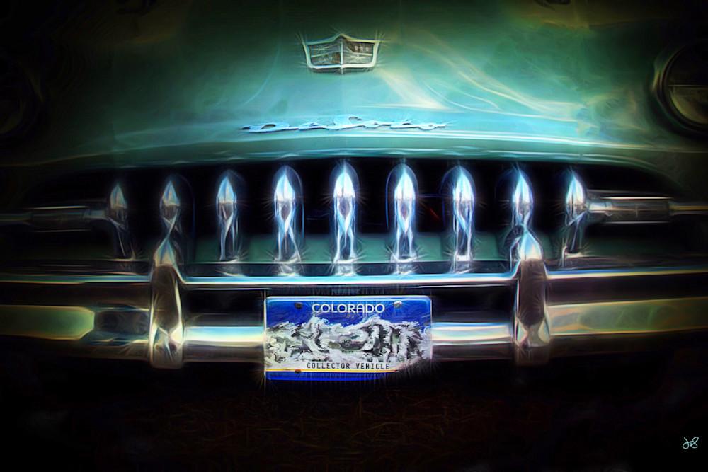 1949 DeSoto Car Fine Art