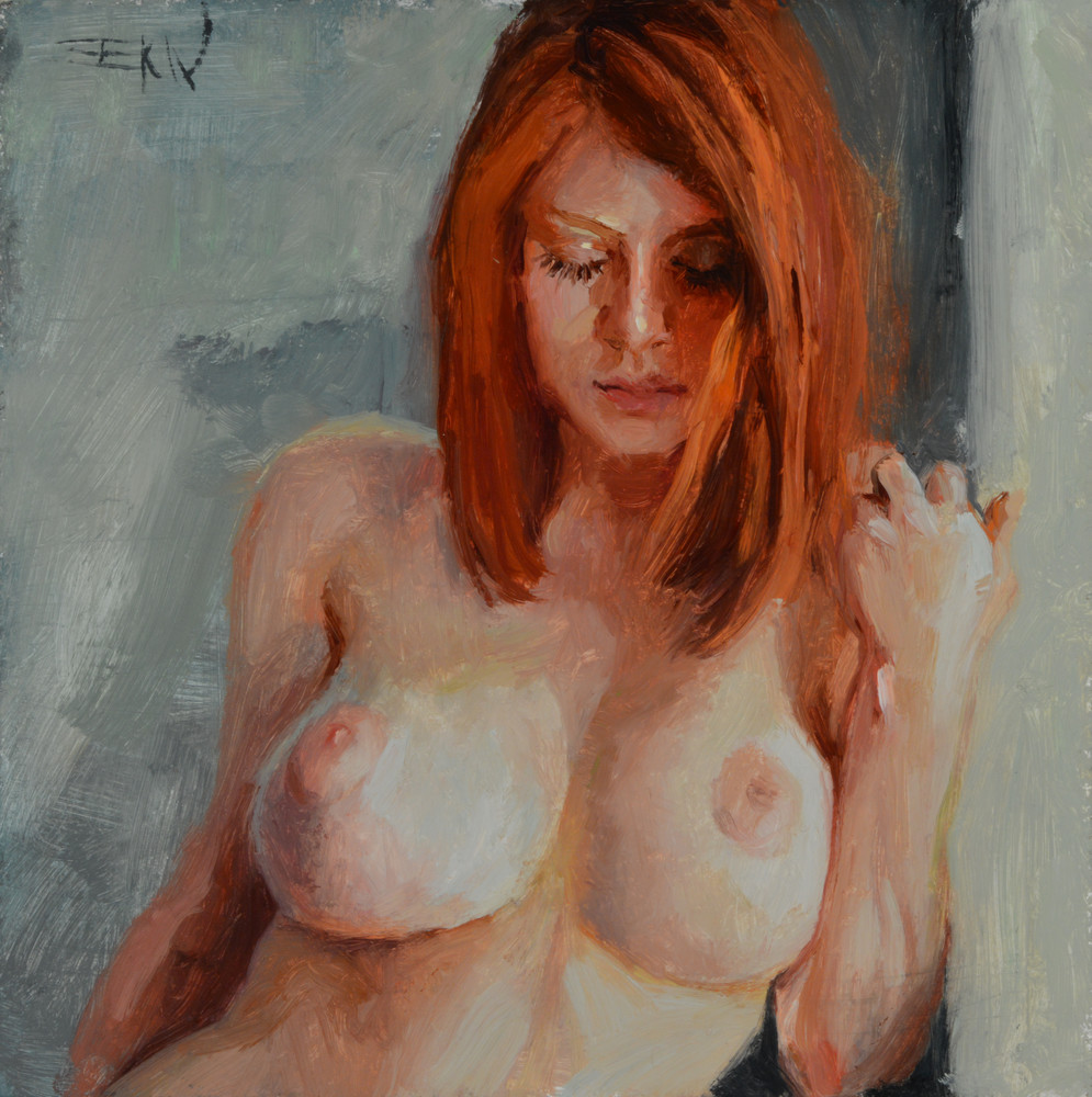"""Contemplation"" giclee print by Eric Wallis."