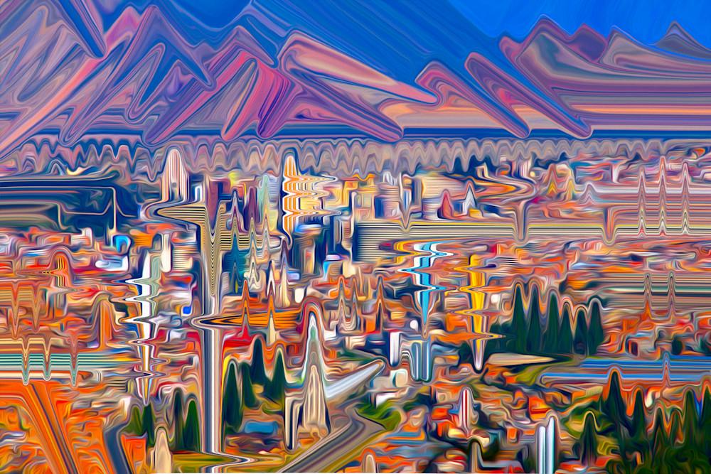 Seeking Higher Ground Art | shawn morris creative